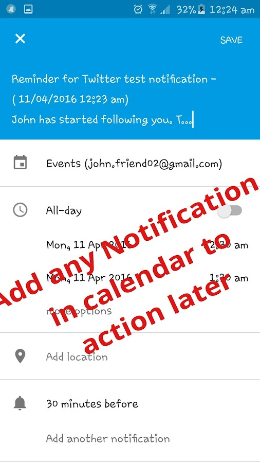 how to turn on notifications for gmail app