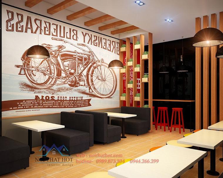 thiết kế cửa hàng bánh ngọt chuyên nghiệp tại bắc ninh