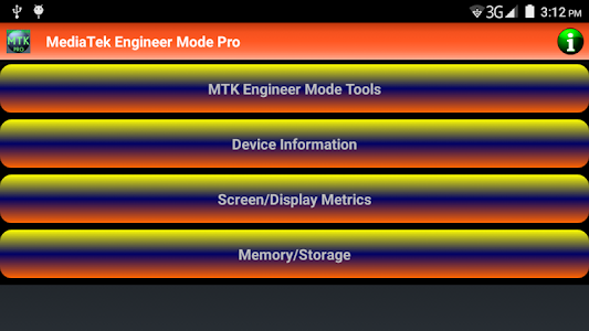 MediaTek Engineer Mode Pro screenshot 3