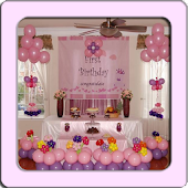 Home Birthday Decoration