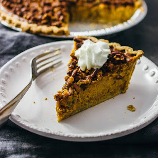 Pumpkin Pie With Pecan Pie Topping Recipes