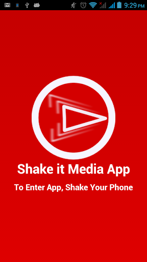 Shake it Media Player