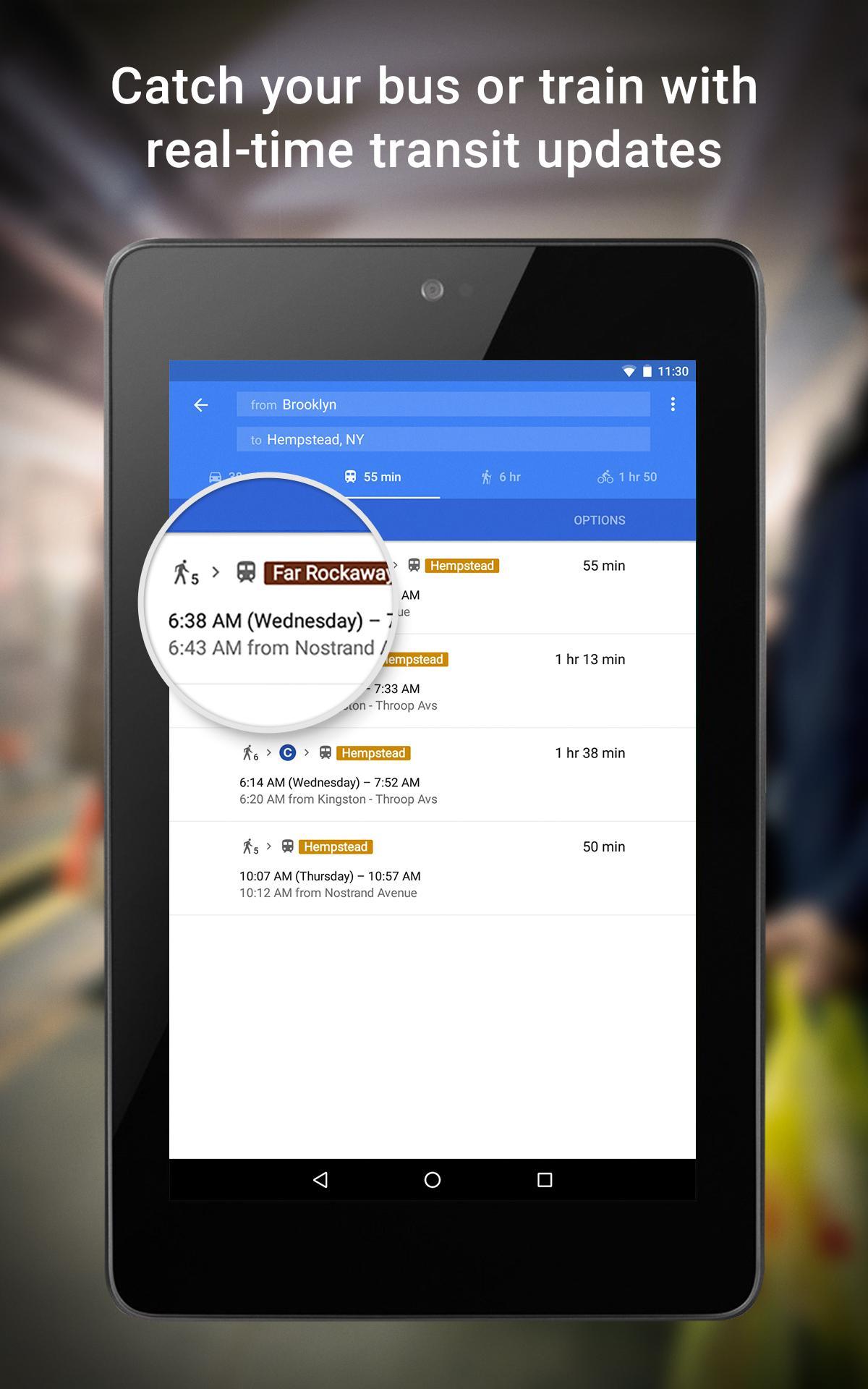 Maps - Navigation & Transit screenshot #18