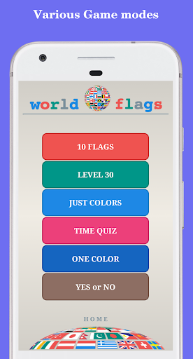 The Flags of the World - Quiz  screenshots 4