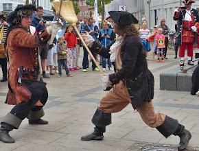Photo: Tordenskiold schafft's auch mit einem Besen.
