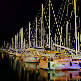 marina by Catalino Adolfo   Jr. - Transportation Boats ( boats, transportation )