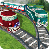 Train Racing Real Game 2017