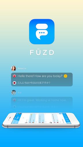 Fuzd - 结识,聊天,交友 實時聊天翻譯。