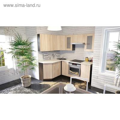 Кухонный гарнитур Симона мега прайм 2000*1500