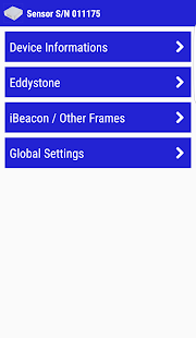 BlueBeacon Manager App- screenshot thumbnail