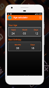 Download Age Calculator By Date Of Birth (Days, Months) For PC Windows and Mac apk screenshot 3