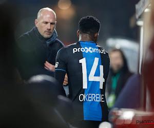 Philippe Clement legt uit waarom hij Okereke in de tribune zette