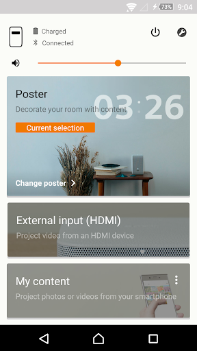 Portable Ultra Short Throw Projector Application 3.1.0 Windows u7528 3