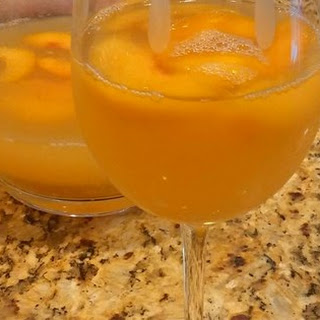 Peach-Pineapple Sangria.