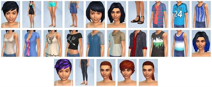 De Sims 4 Achtertuin Accessoires CAS-items