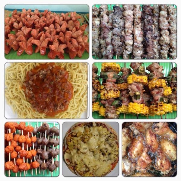 Những mặt hàng đồ ăn vặt