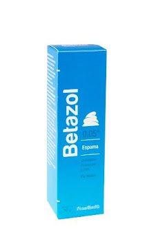Betazol 0.05% Espuma   Frasco x50g. MEDIHEALTH Clobetasol Propionato
