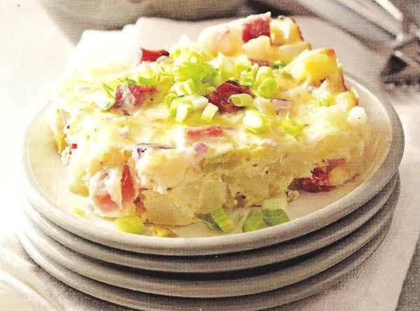 Horseradish Ham Potato Bake Recipe