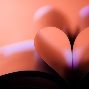 Love by Agung Cahyono - Artistic Objects Other Objects ( love, wallpaper, book, pink, soft )