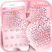 App Rose Gold Diamond Love Theme APK for Windows Phone