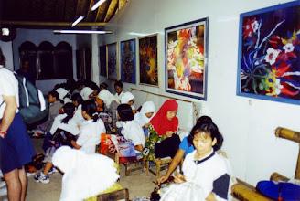 Photo: #020-L'artisanat traditionnel, le Batik-Yogyakarta-Java