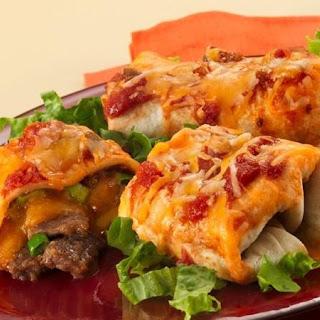 Mini Baked Steak Burritos Recipe