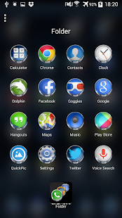 Version launcher free shell next apk download 3d full