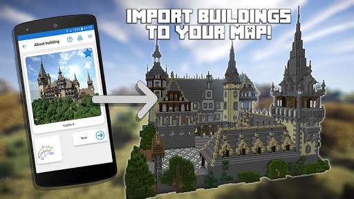 Screenshot for Builder PRO for Minecraft PE in Hong Kong Play Store