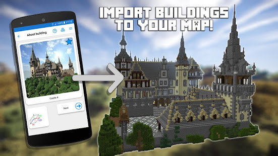 Builder PRO for Minecraft PE Mod