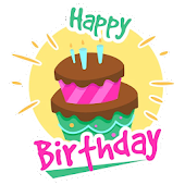 Birthday Stickers for Whatsapp - WAStickerApps