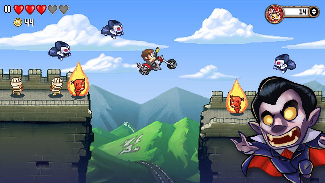 Monster Dash: screenshot