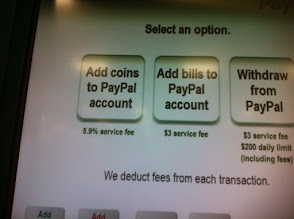 Photo: I chose to add coins to my PayPal account