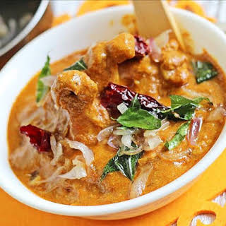 Kerala Chicken Curry Style.