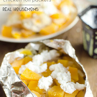 Butternut Squash & Chicken Foil Packets