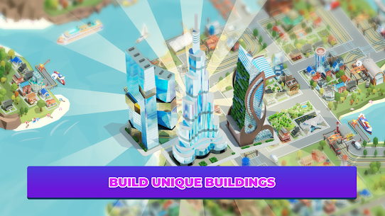 Idle Delivery City Tycoon: Cargo Transit Empire Mod Apk (Unlimited Money) 7