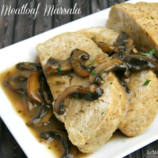 Chicken Meatloaf Marsala PLUS a $500 Paypal Cash GIVEAWAY!