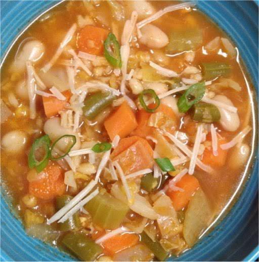 Vegetable Barley Soup - Instant Pot