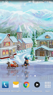 Christmas Rink Live Wallpaper Screenshot 4