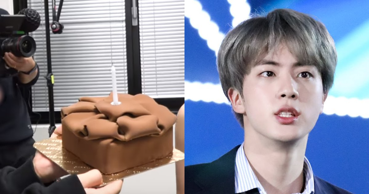 Jin Completely Exposed Jimin's Birthday Cake In Latest