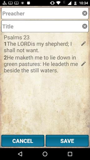 Holy Bible King James Version screenshot 5