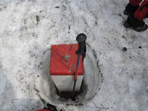 Photo: 16.Bugaj (1140 m). Jak widać jest jeszcze całkiem sporo śniegu. Tak na oko jakieś 40-50 cm.