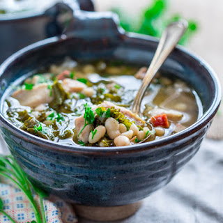 Slow Cooker White Bean And Ham Stew