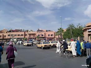 Photo: Taxis en Marrakech