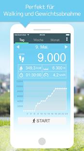 Schrittzähler Screenshot