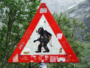 Photo: oczywiście znak przy Drodze Troli