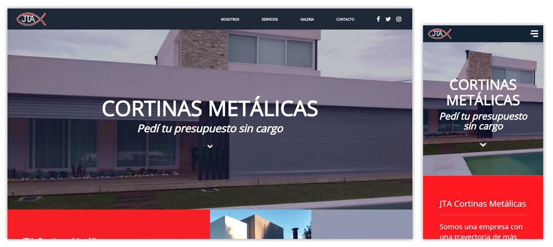 Sitio web JTA