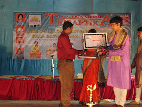 Photo: Trisaptika Kala Ratna Award To Sri Rupak Bhattacharjee