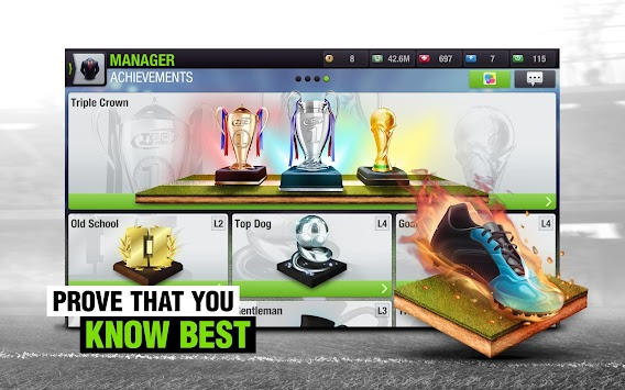 Top Eleven - Football Manager APK screenshot thumbnail 20