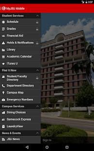MyJSU Mobile- screenshot thumbnail