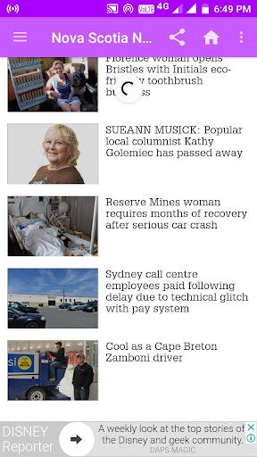 Nova Scotia Daily Newspapers 1.0 screenshots 5